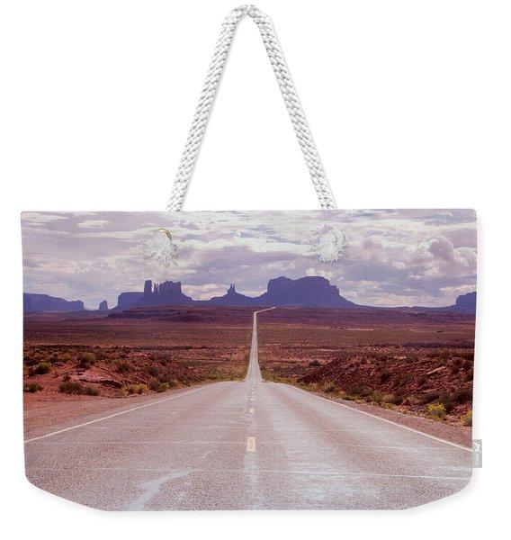 Us Highway 163 Weekender Tote Bag