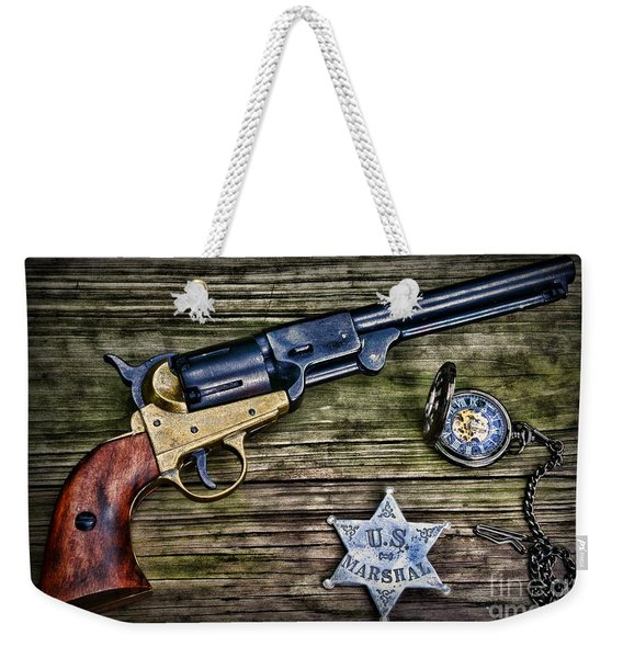 Us Marshall - American Justice - Cowboy Weekender Tote Bag