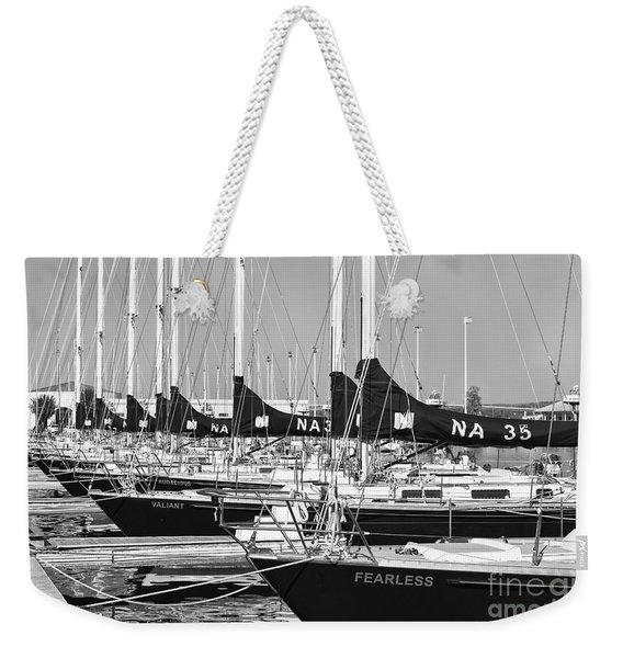 Us Navy 44 Sail Training Craft II Weekender Tote Bag