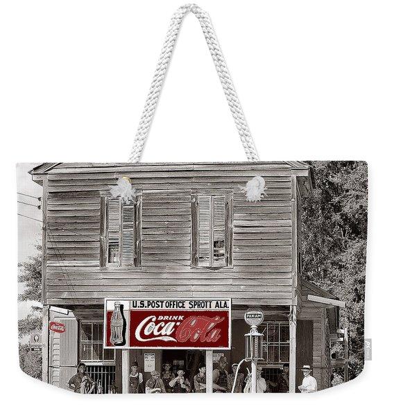 U.s. Post Office General Store Coca-cola Signs Sprott  Alabama Walker Evans Photo C.1935-2014. Weekender Tote Bag