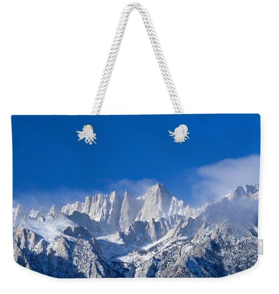 Usa, California, Mount Whitney Weekender Tote Bag