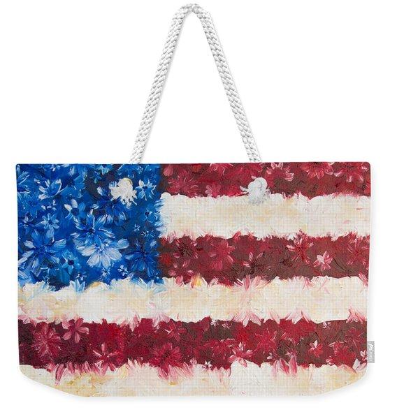 Usa Proud Weekender Tote Bag