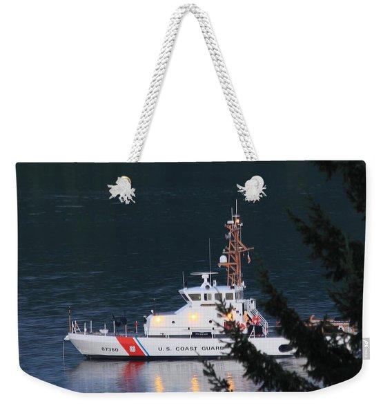 Uscgc Blue Shark Weekender Tote Bag