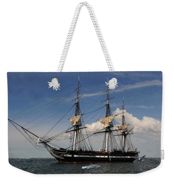 Uss Constitution - Featured In Comfortable Art Group Weekender Tote Bag