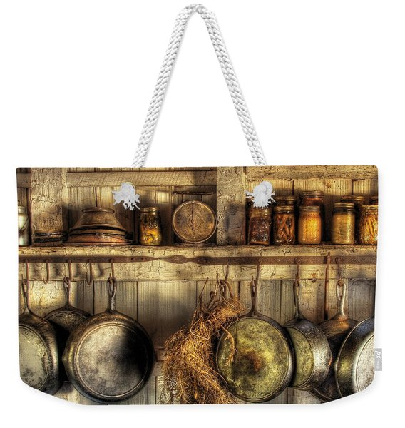 Utensils - Old Country Kitchen Weekender Tote Bag