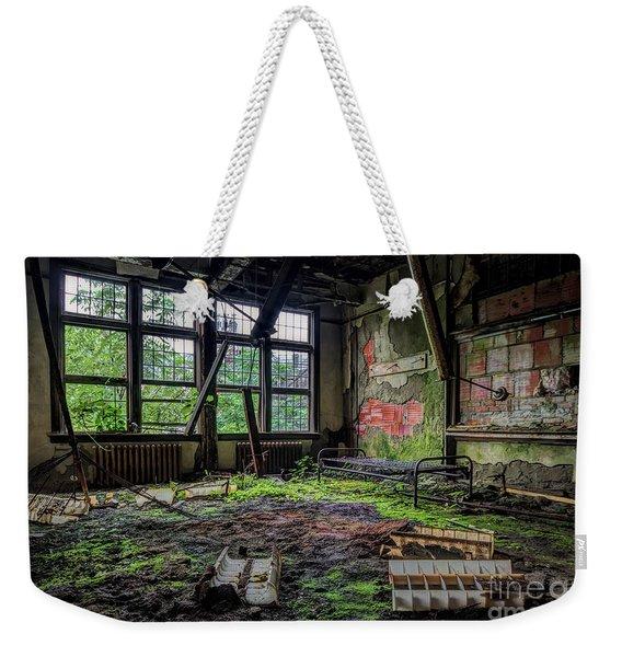 Vacant Weekender Tote Bag