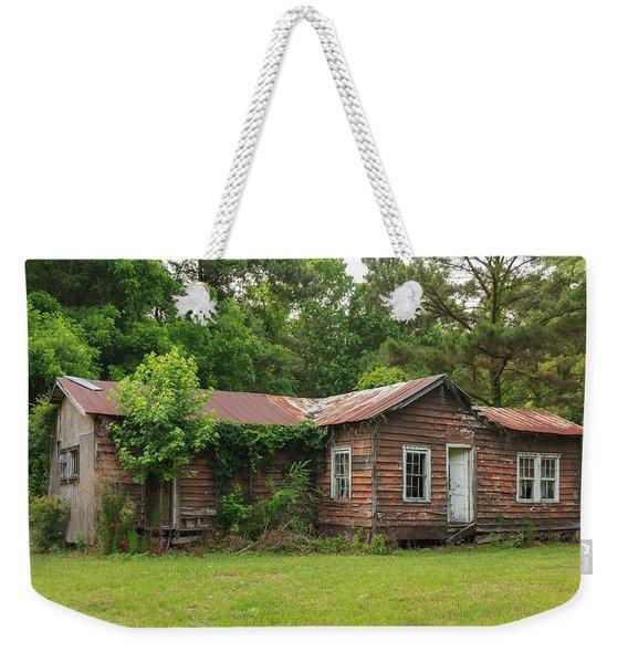 Vacant Rural Home Weekender Tote Bag