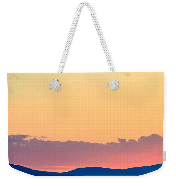 Vail Sunset Weekender Tote Bag