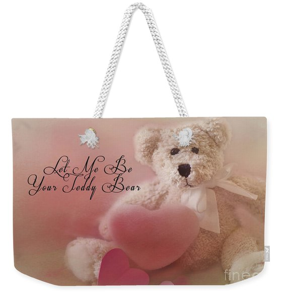 Valentine Bear 2 Weekender Tote Bag