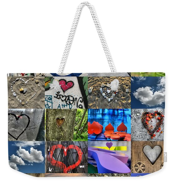 Valentine's Day - Hearts For Sale Weekender Tote Bag