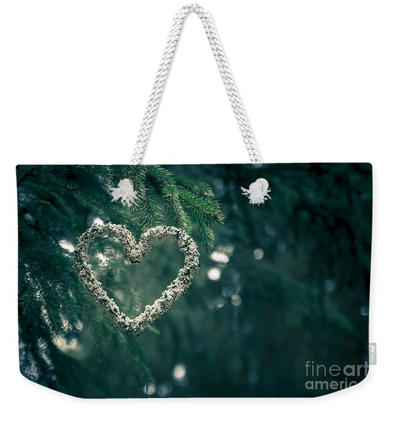 Valentine's Day In Nature Weekender Tote Bag