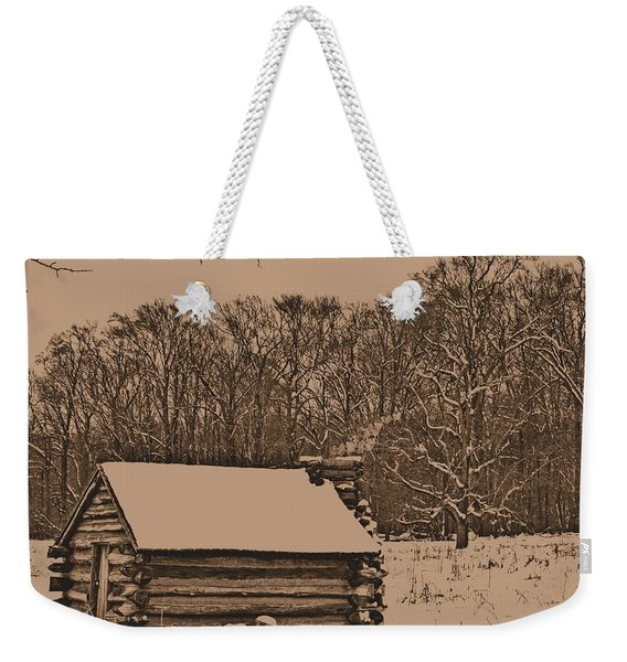 Valley Forge Winter 1 Weekender Tote Bag