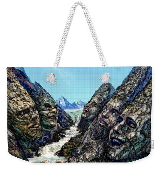 Valley Of The Absurd Weekender Tote Bag