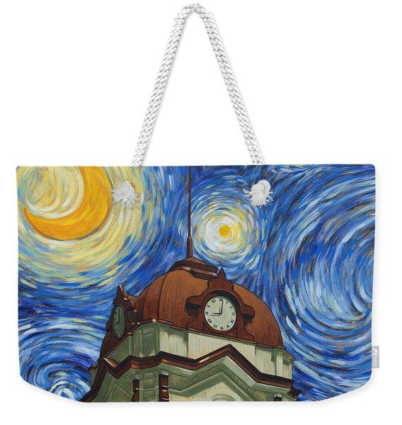 Van Gogh Courthouse Weekender Tote Bag