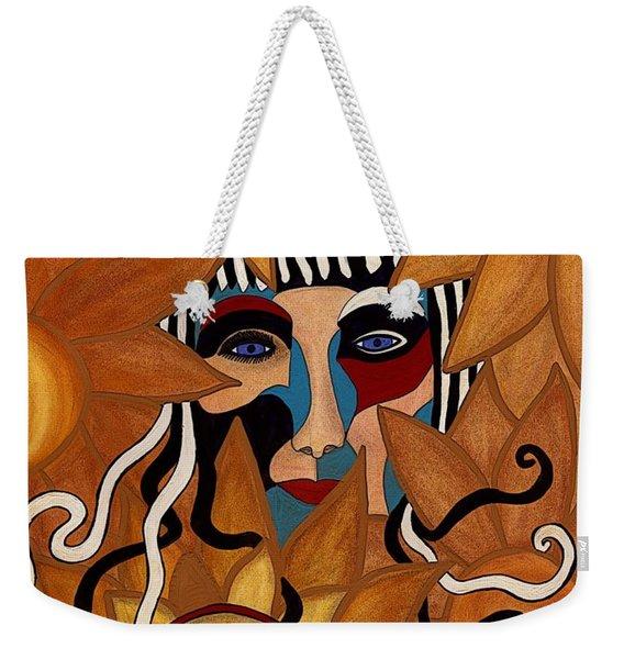 Van Gogh Meets Picasso Weekender Tote Bag
