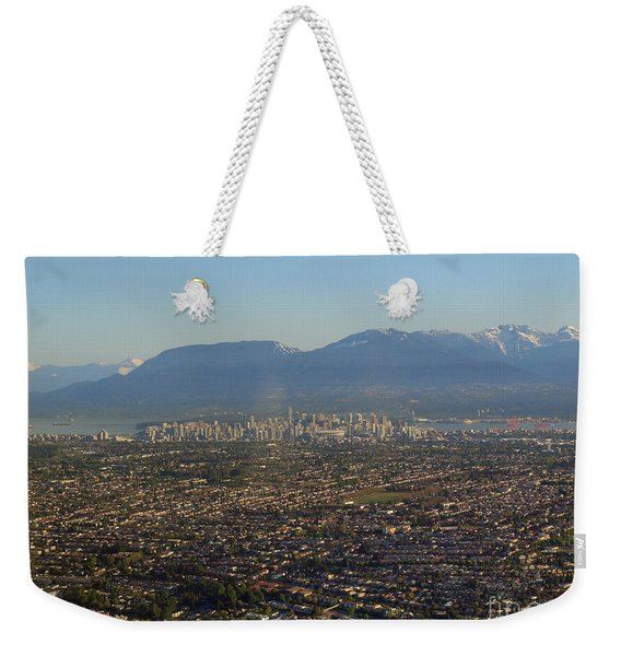 Vancouver At A Glance Weekender Tote Bag