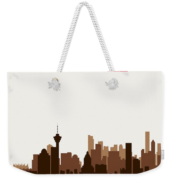 Vancouver British Columbia Canada Weekender Tote Bag