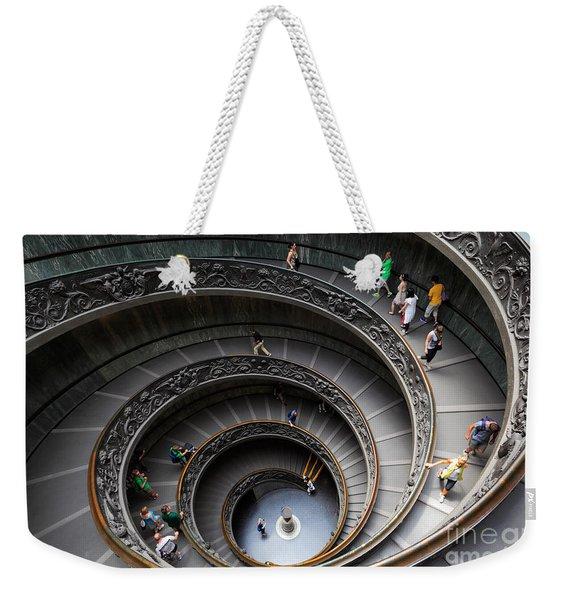 Vatican Spiral Staircase Weekender Tote Bag