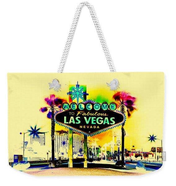 Vegas Weekends Weekender Tote Bag