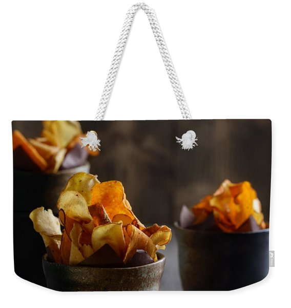 Vegetable Crisps Weekender Tote Bag