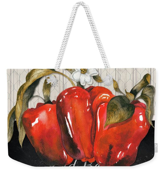 Vegetable Farm Fresh IIi Weekender Tote Bag