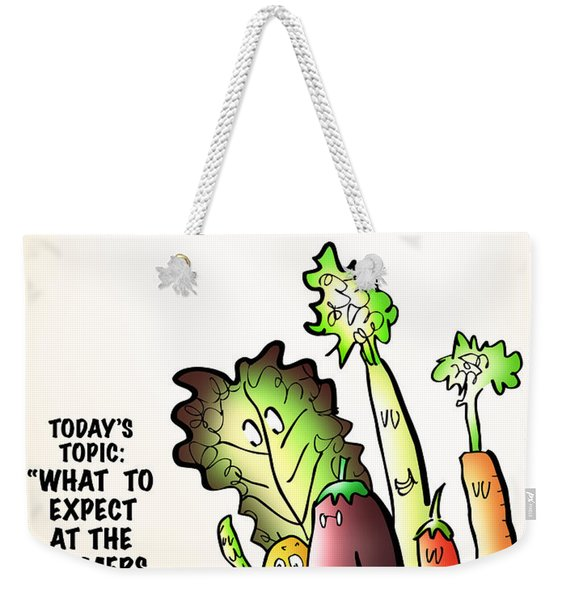 Vegetable Matters The Podcast Weekender Tote Bag