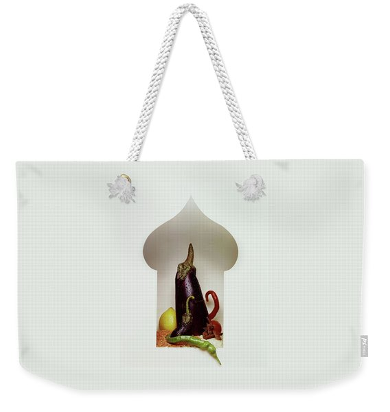 Vegetables In The Shape Of A Mosque Weekender Tote Bag