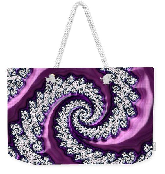 Velvet Weekender Tote Bag