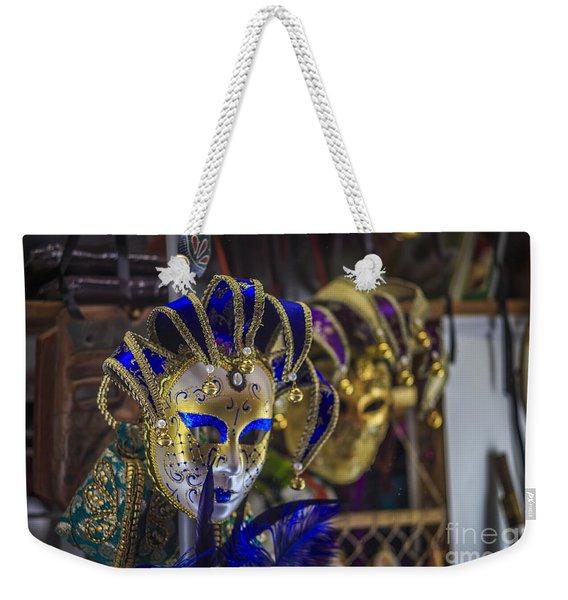 Venetian Carnival Masks Cadiz Spain Weekender Tote Bag