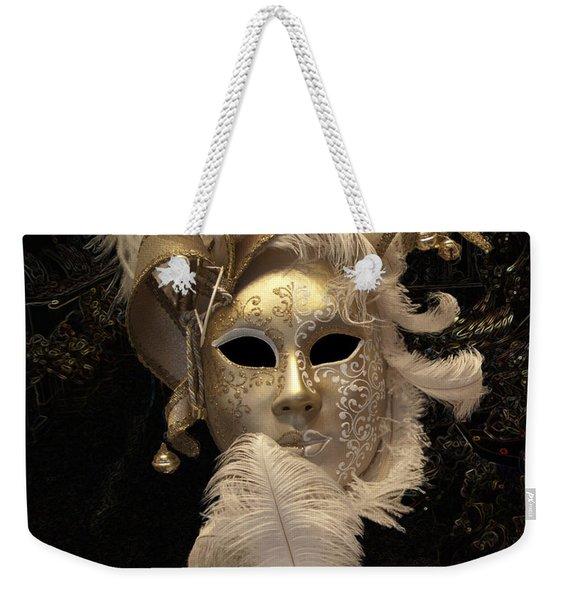 Venetian Face Mask B Weekender Tote Bag