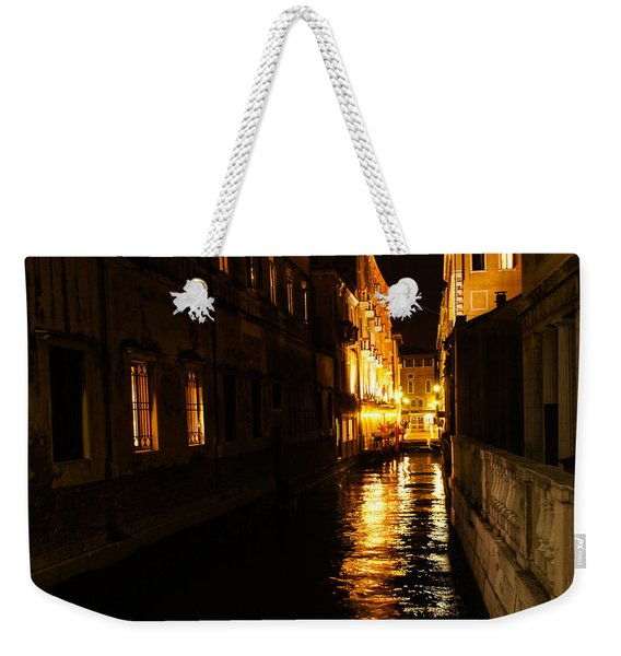 Venetian Golden Glow Weekender Tote Bag