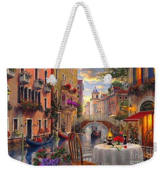 Venice Al Fresco Weekender Tote Bag