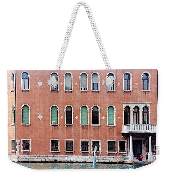 Venice Apartment Weekender Tote Bag