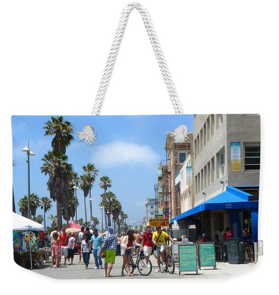 Venice Beach Boardwalk Weekender Tote Bag