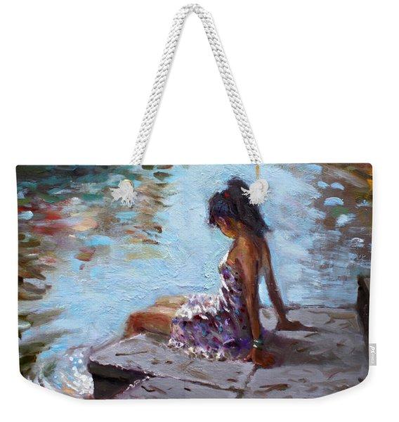 Venice Reflections Weekender Tote Bag