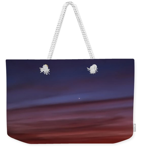 Venus And Mercury Weekender Tote Bag