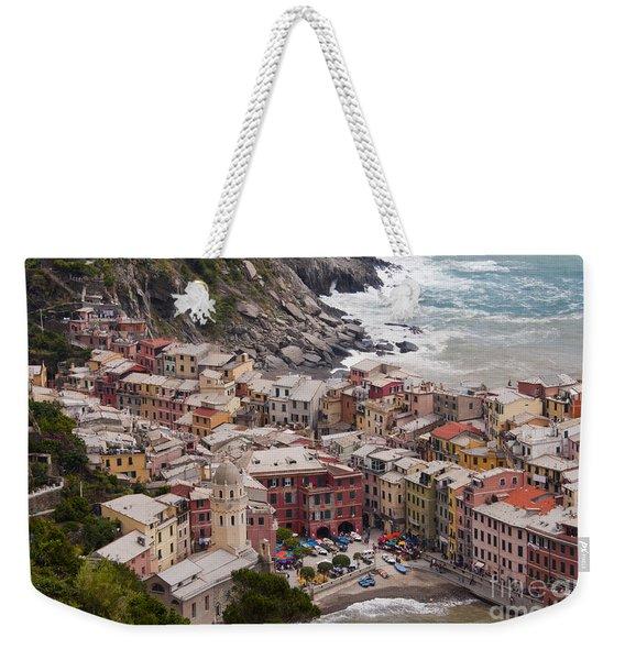 Vernazza Port City Weekender Tote Bag