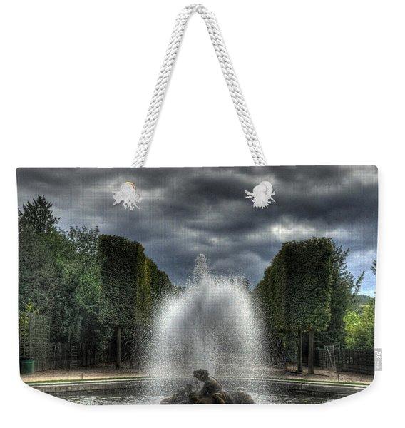 Versailles Fountain Weekender Tote Bag