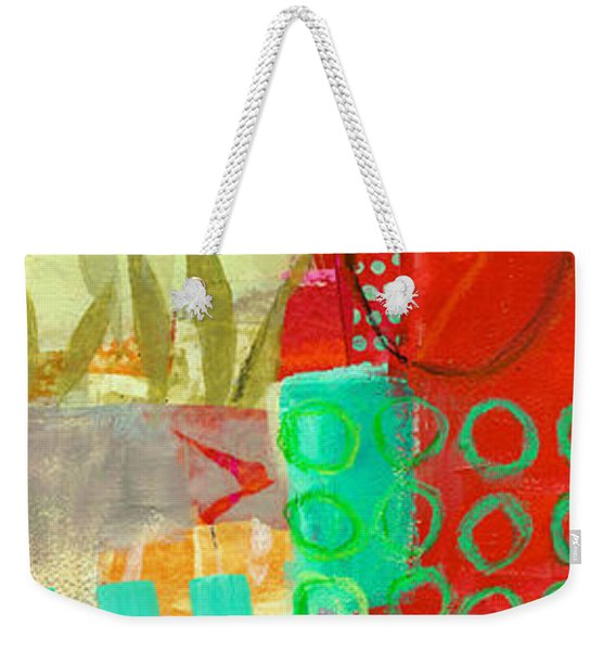 Vertical 5 Weekender Tote Bag
