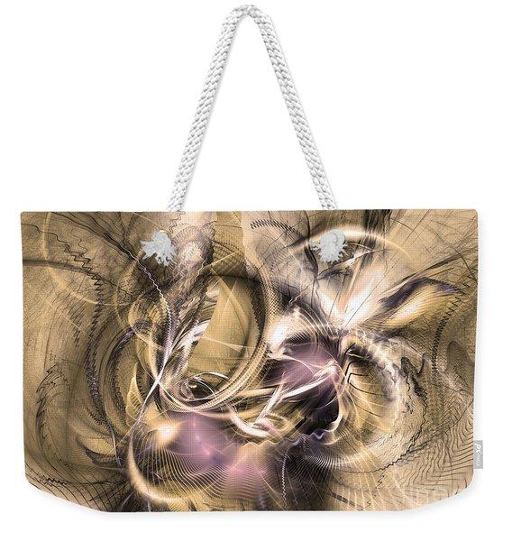 Vestigium Aeternum - Abstract Art  Weekender Tote Bag
