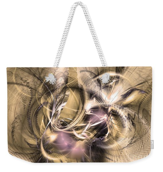 Vestigium Aeternum - Abstract Art  Weekender Tote Bag
