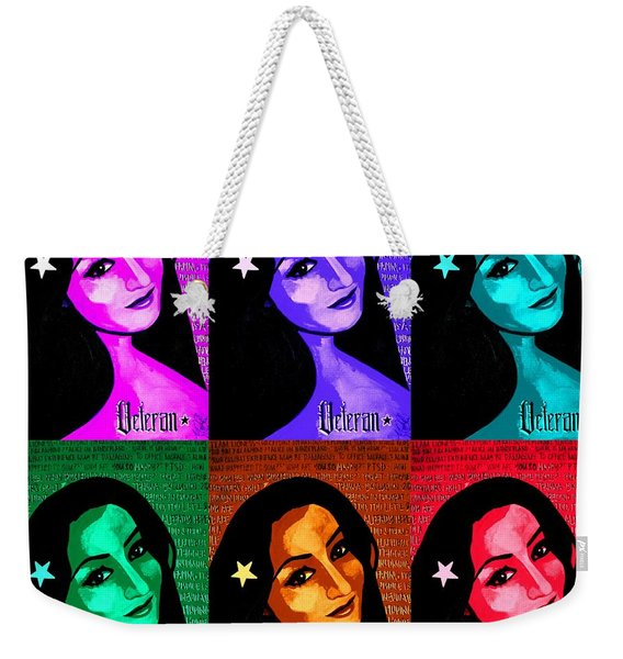 Veterana Colors Weekender Tote Bag