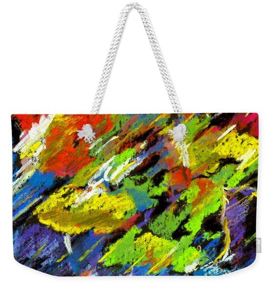 Colorful Impressions Weekender Tote Bag