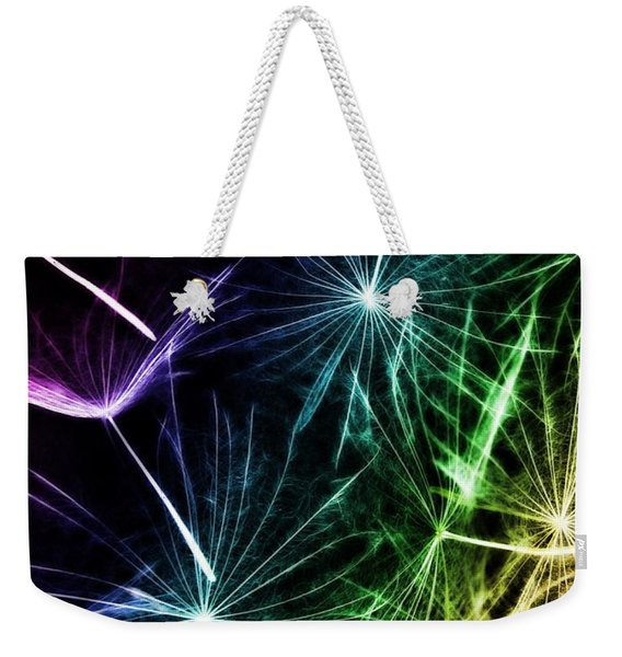 Vibrant Wishes Weekender Tote Bag