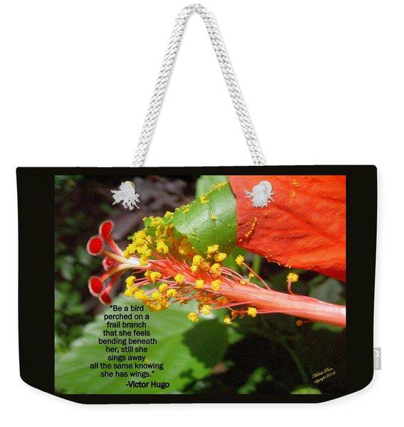Victor Hugo Weekender Tote Bag
