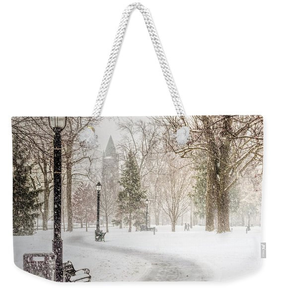Weekender Tote Bag featuring the photograph Victoria Park by Garvin Hunter