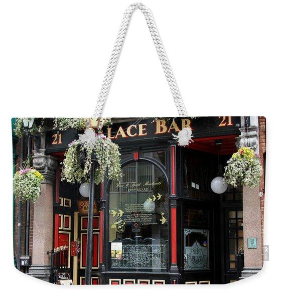 Victorian Pub - Palace Bar - Dublin Weekender Tote Bag