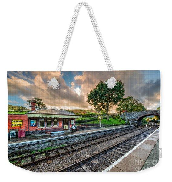 Victorian Station Weekender Tote Bag