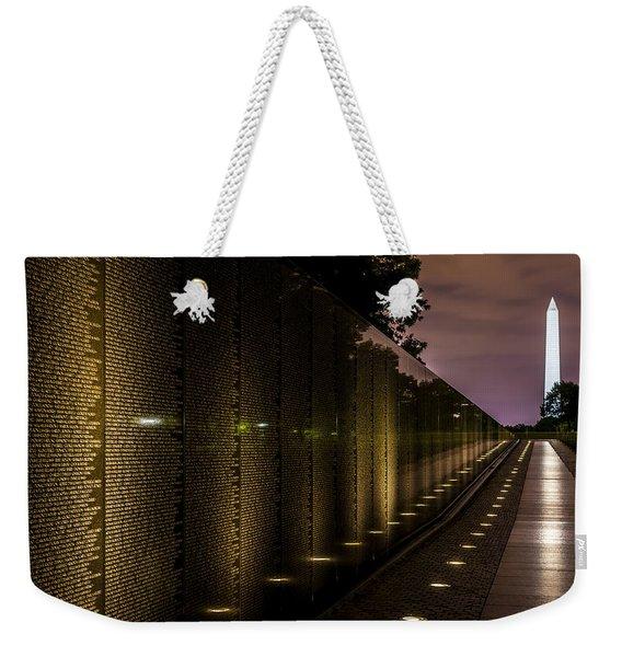 Vietnam Veterans Memorial Weekender Tote Bag