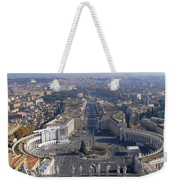 View From Dome Of St Peters Weekender Tote Bag